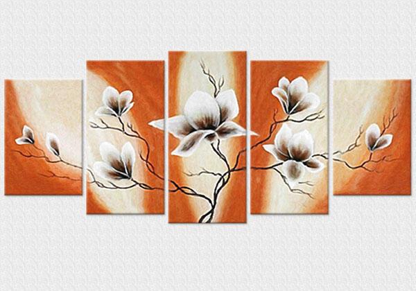 Flori speciale pe maron