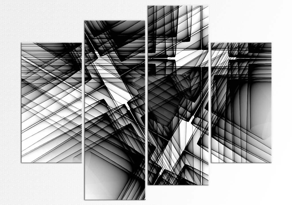 Linii in alb si negru